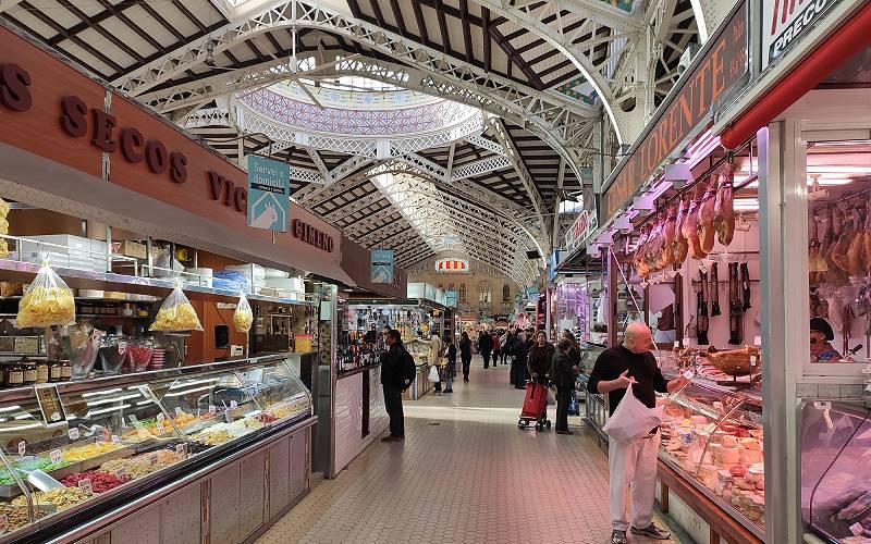 mercado central valencia binnen
