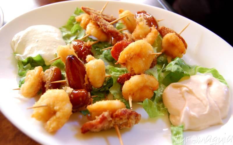 gastronomie en tapas gran canaria foto Galdar