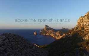 above the spain islands