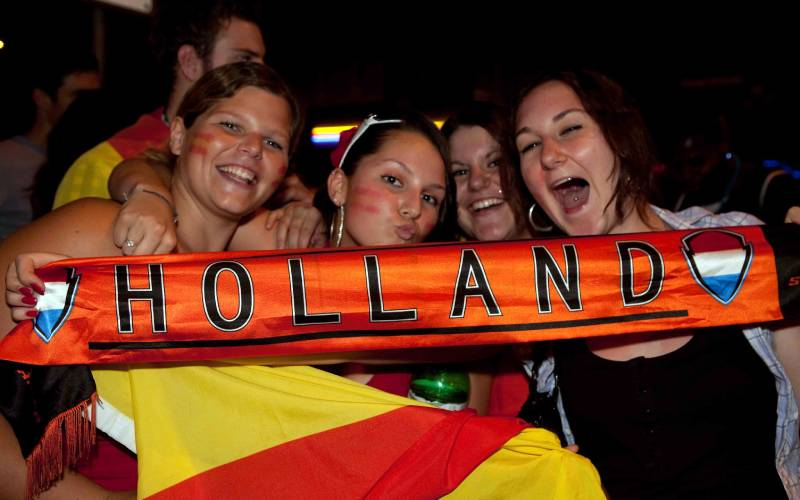 holland vs spain foto popeyee