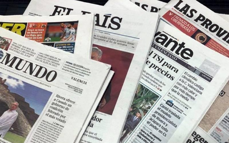spaanse kranten