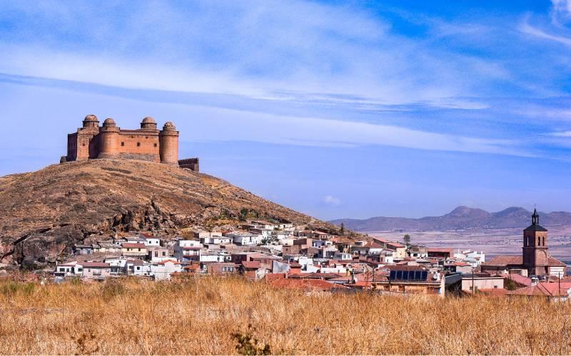 La Calahorra _ Castillo de la Calahorra en Granada, Spain