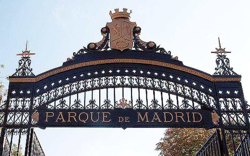Puerta de España, een van de ingangen van het Retiro-park in Madrid