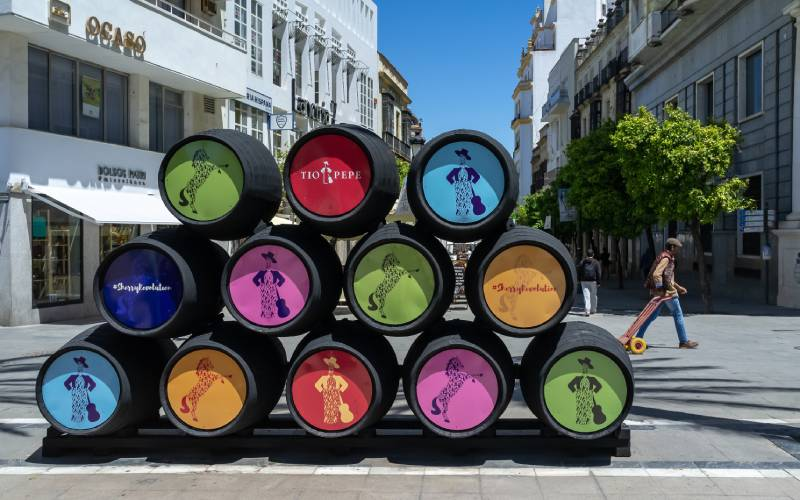 Sherry barrels in Jerez Steve Bellamy_files