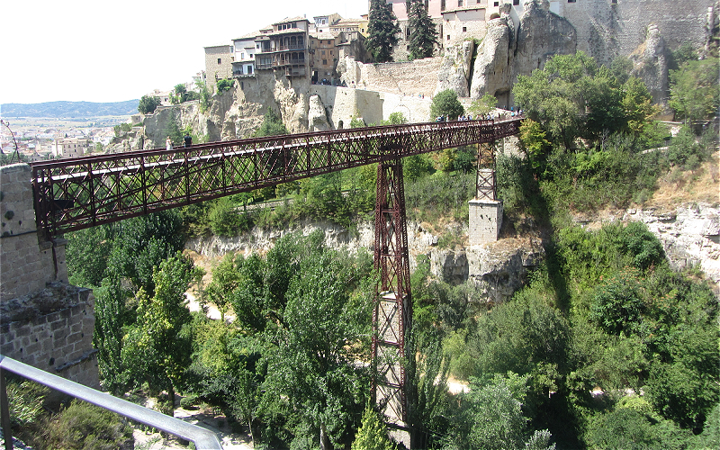11 Details of the San Pablo bridge structure,Cuenca foto Dilys Anne Kevan