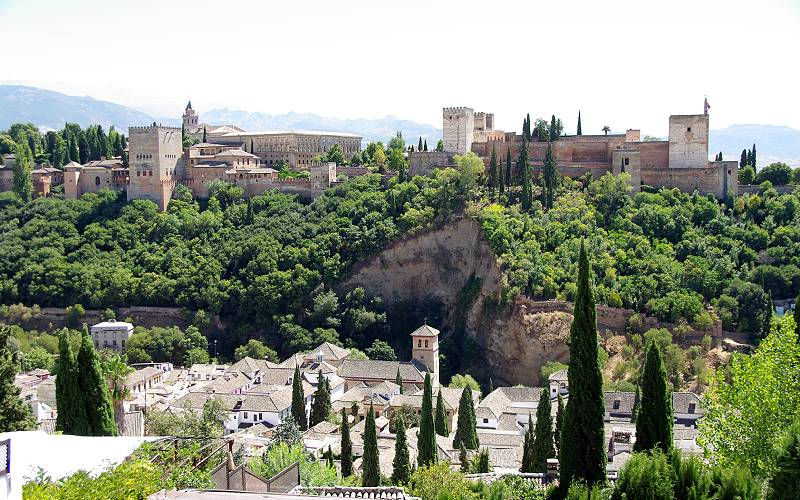 Granada _ Aussicht vom Mirador de San Nicolás zur Al… _ asti2014 _ Flickr_files