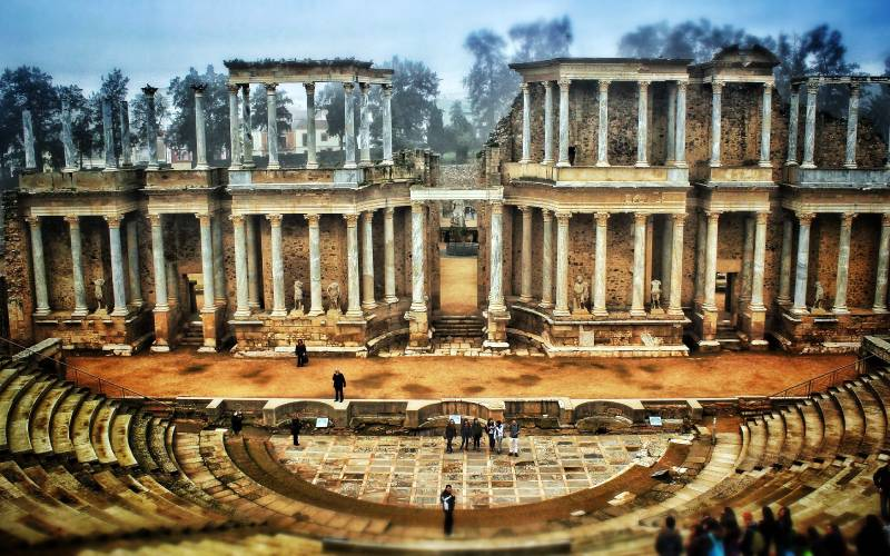 Roman Theatre of Merida _ Daniel Delgado_files
