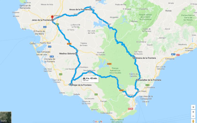 Route-langs-5-'de-la-Fronteras'-in-de-provincie-Cadiz-cover