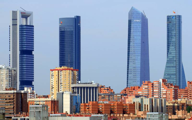 0 Cuatro Torres Business Area, Madrid, Spain _ Cuatro Torres B… _ Flickr foto Daniel Garrido