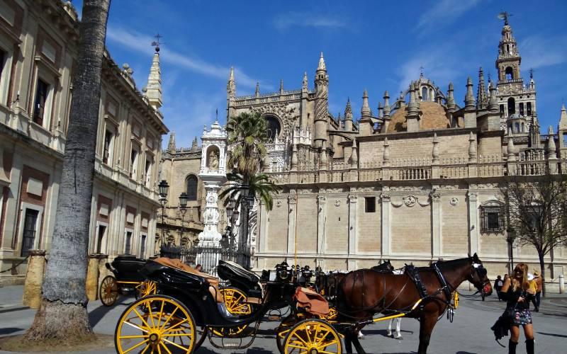 3 Catedral de Sevilla, Andalucía, España. _ Localizada en el c… _ Flickr foto Caty