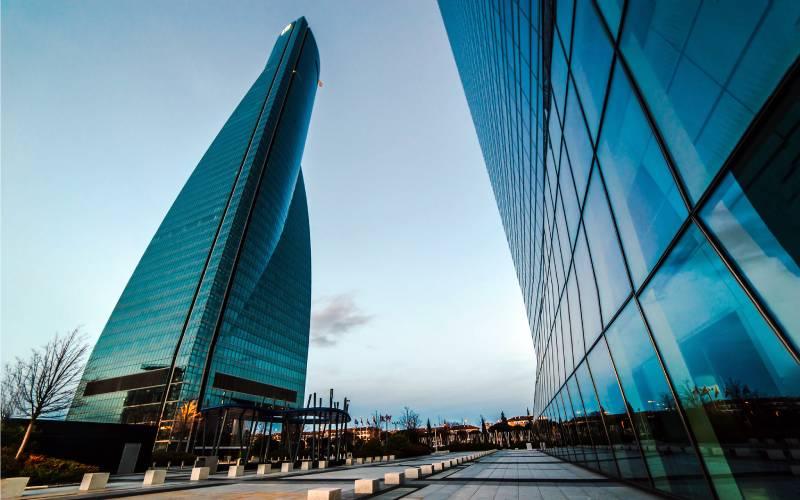 4 Torre Espacio _ Complejo Cuatro Torres - Madrid _ foto Juaberna _ Flickr