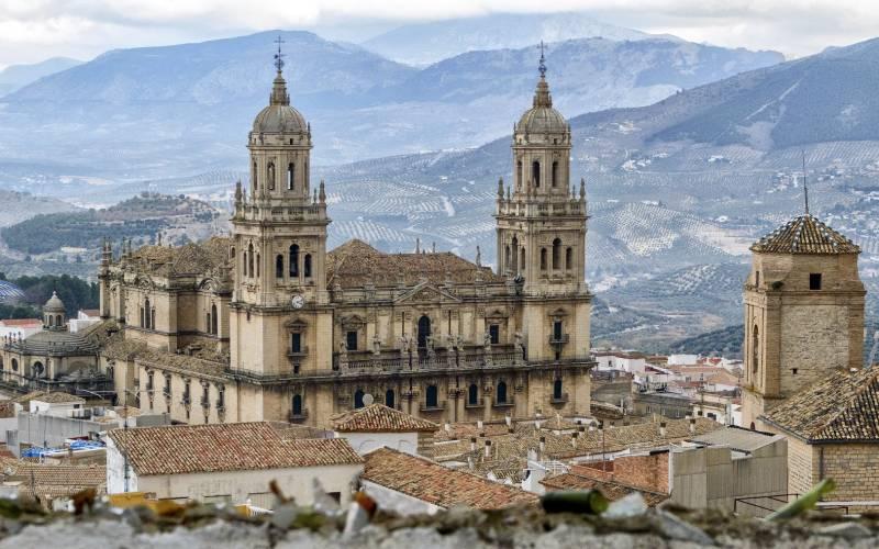 5 Jaén - la catedral de los olivos _ foto Pepe Serrano _ Flickr