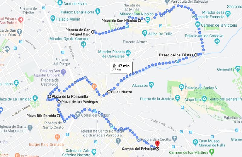 De-8-leukste-pleinen-in-Granada-wandelroute