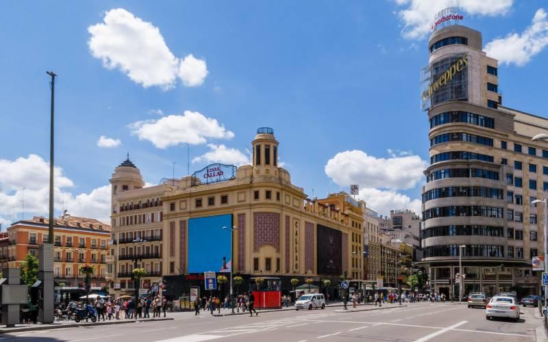 Plaza de callao _ Madrid _ José Luis Vega _ Flickr_files