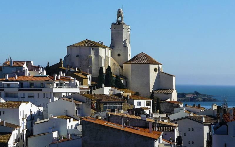 Església de Santa Maria de Cadaqués _ foto ll.lloren _ Flickr_files