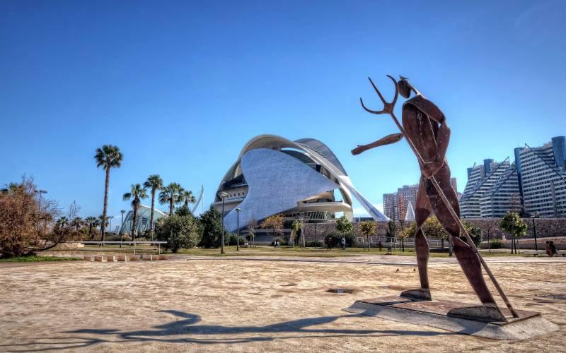 Jardins del Túria. València _ Escultura de Neptuno en los Ja… _ Flickr foto Abariltur