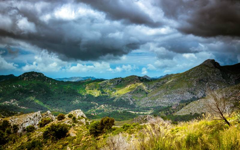 Mallorca Mountains 2 _ Mallorca Mountain Range - Lee ND Grad… _ foto King Grecko