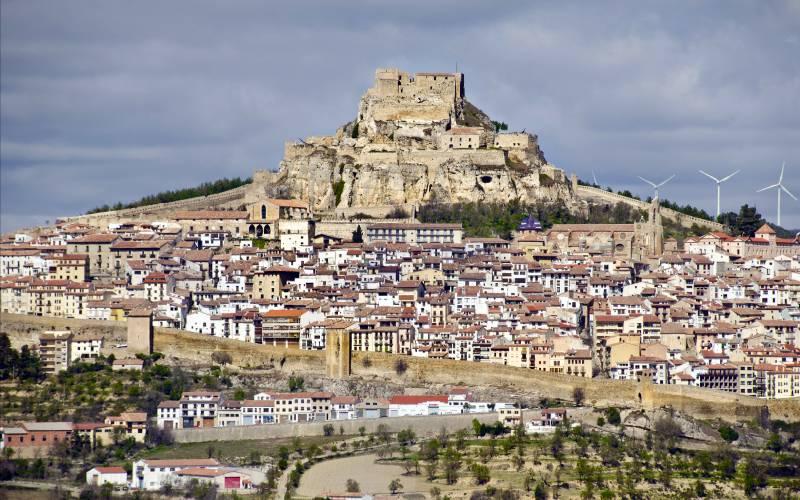 Morella _ Pueblo medieval amurallado de Castellón. _fot Aritz Morcillo _ Flickr