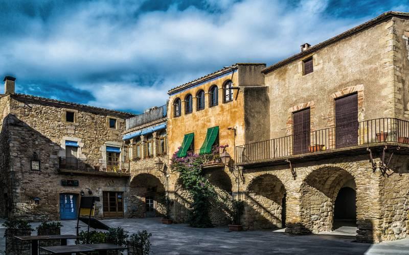 Peratallada 8868 _ Poble del Baix Empordà declarat Conjunt H… _ Flickr foto Fèlix González