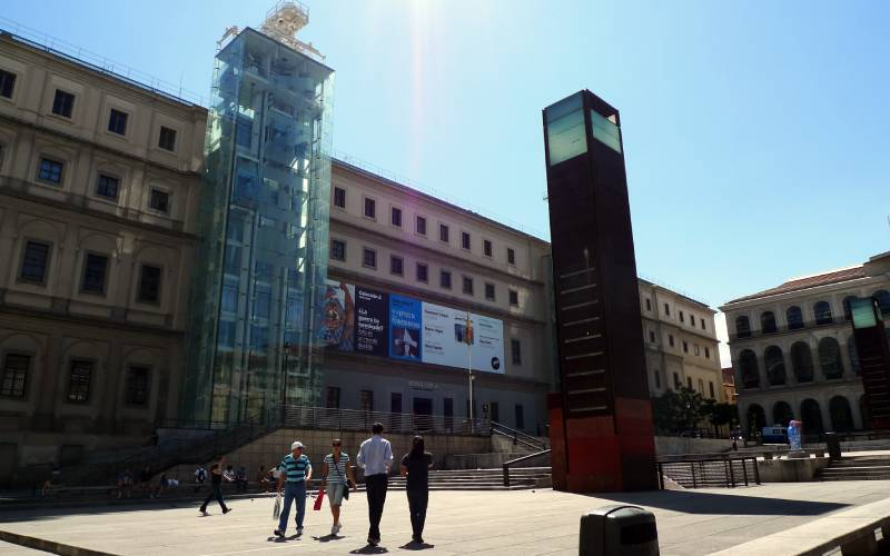 at reina sofia _ The Madrid museum of modern art. Reina Sofi… _ Flickr foto jon crel