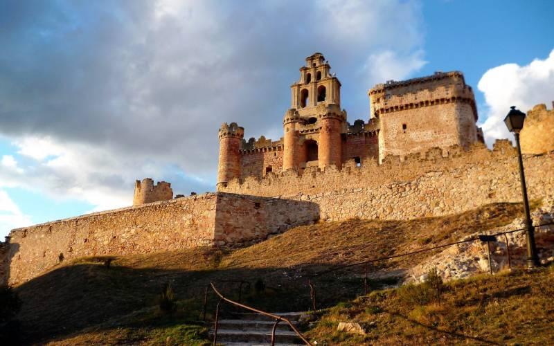 Castillo-Iglesia de Turégano - Segovia. _ El castillo de Tur foto Eduardo Ortín