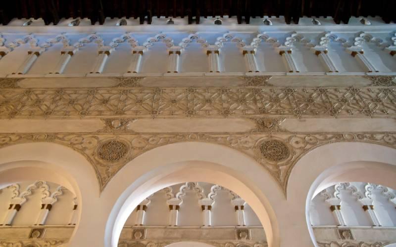 Detail_Ancient-Synagoge-Toledo _ Detail of Santa Maria La Bl… _ Flickr foto ay_trip_2011