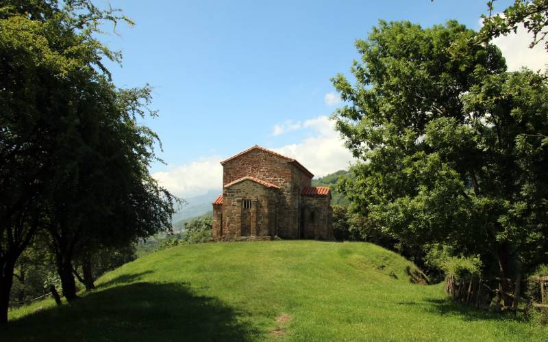 Iglesia de Santa Cristina de Lena _ 4 tappa_ Pajares - Pola … _ Flickr foto Matteo Bimonte
