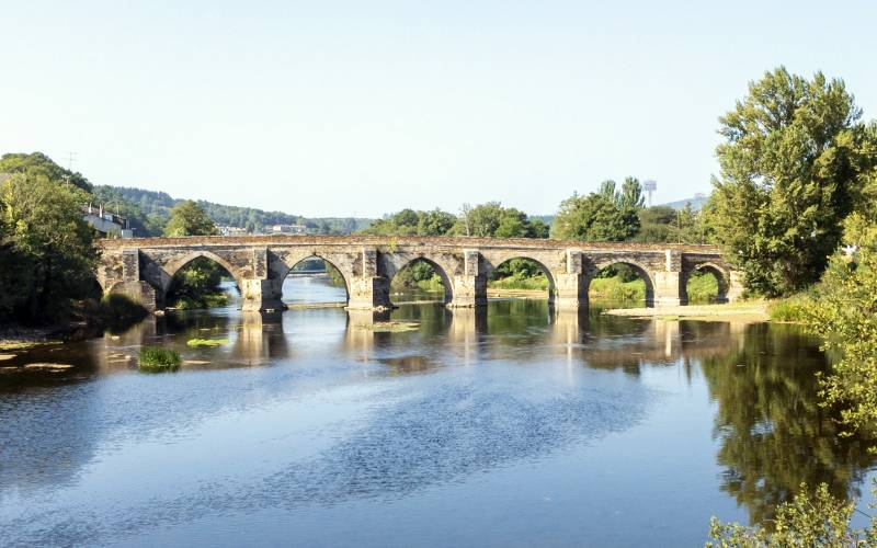 Lugo, Roman bridge _ foto Kevin Scott _ Flickr