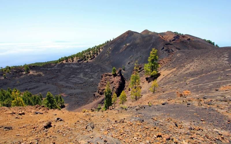 Parque Natural de Cumbre Vieja, Ruta de los Volcanes _ foto René Silvio H