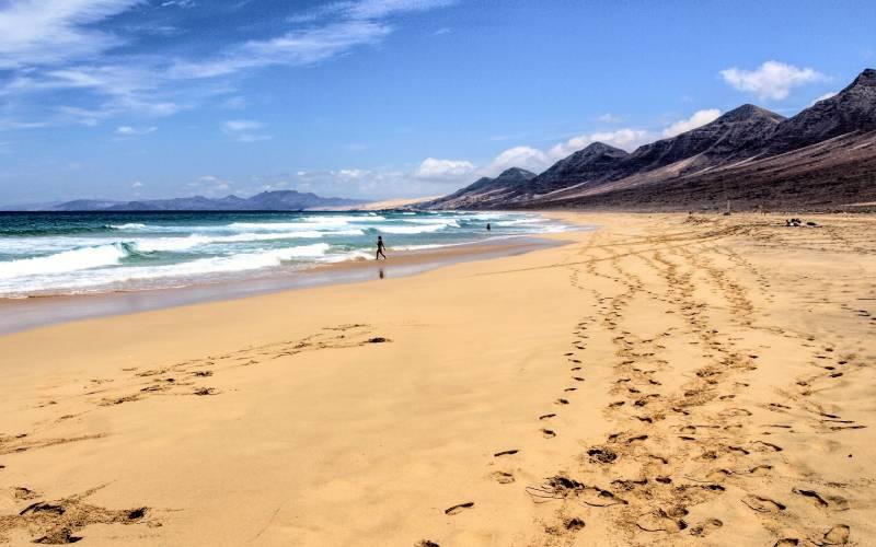 Playa de Cofete . Fuerteventura. _ Inmenso arenal de mas de … _ Flickr foto Mackedwars
