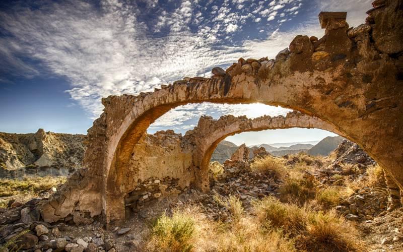 Ruine Desierto d Tabernas (Andalusien) _ Lothar Voss