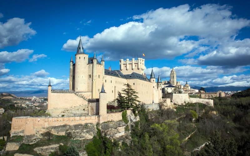 alcazar de Segovia _ Alcazar de Segovia _foto juanjo jarabo