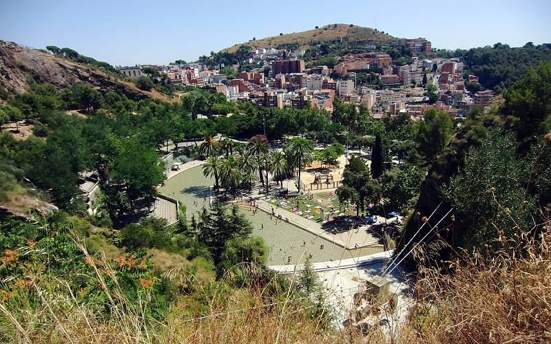 Barcelona, Parc de la Creueta del Coll, julio 2013 _foto Joan Pau Inarejos _ Flickr