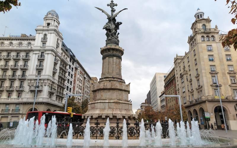 IMG_0502_Plaza de España _ Zaragoza, Plaza de España _ Flickr foto Santiago Larena