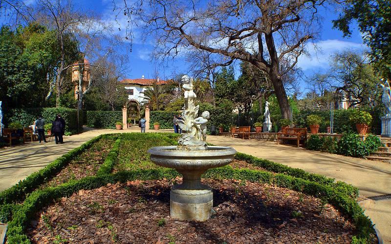 Jardines (Explore _ Jardines de La Tamarita en Barcelona _ foto Miguel Allué Aguilar _ Flickr