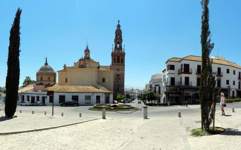 Spain Carmona Iglesia de San Pedro foto SimbaUllaDK