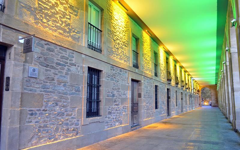 El Reto- Reflejos Los Arquillos _ Los Arquillos iluminados s… _ Flickr foto eitb